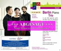 24.04.2020: Berlin Piano Trio